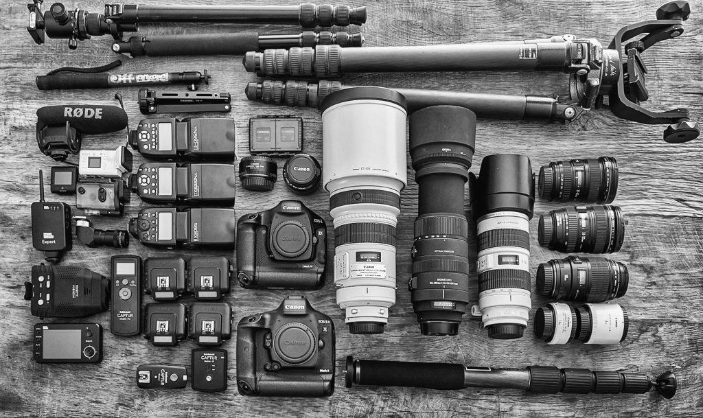 Apparatuur Ernst Dirksen Fotografie